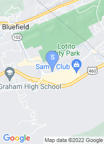 Bluefield College map