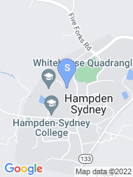 Hampden Sydney College map