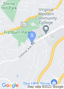 Virginia Western Community College map