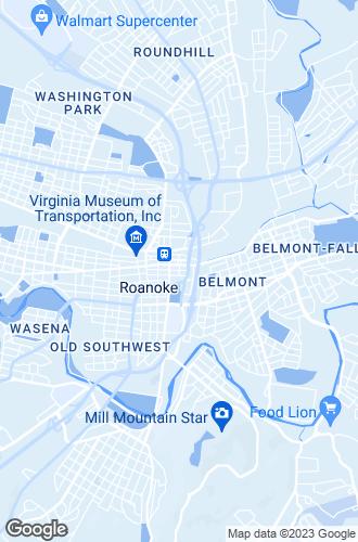 Map of Roanoke