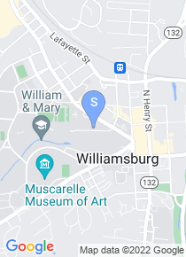 College of William and Mary map