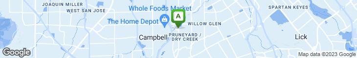Map of Erik's Delicafe