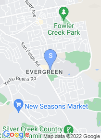 Evergreen Valley College map
