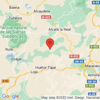 Map - Casa Rural de lujo con vivienda separada, Montefrio