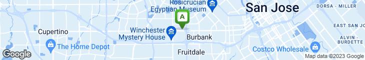 Map of Boudin Bakery