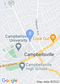Campbellsville University map