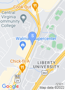 Central Virginia Community College map