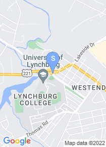 Lynchburg College map