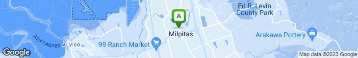Map of La Milpa
