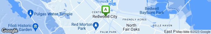 Map of A Tavola Restaurant
