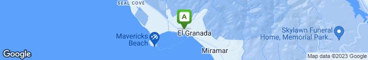 Map of Cafe Gibraltar