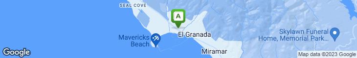 Map of Princeton Seafood