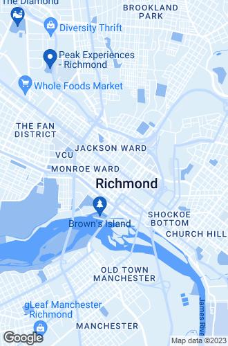 Map of Richmond