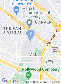 Virginia Commonwealth University map