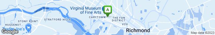 Map of Carlton's