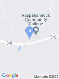 Rappahannock Community College map
