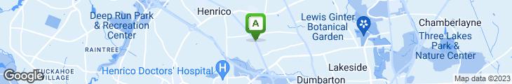 Map of Taqueria Del Sol