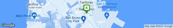 Map of Hon Lin Restaurant