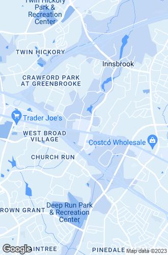 Map of Glen Allen