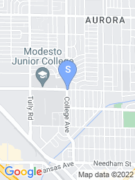 Modesto Junior College map