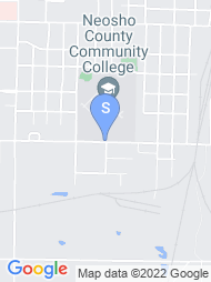 Neosho County Community College map