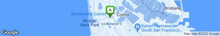 Map of Cinnabon