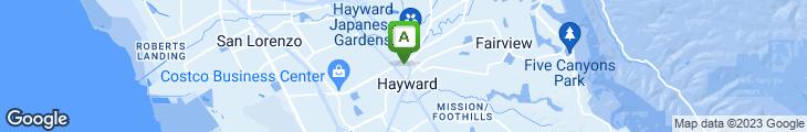 Map of B St. Restaurant