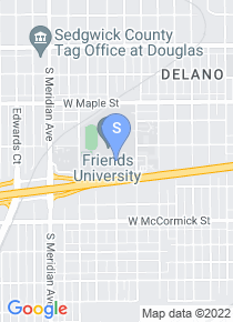 Friends University map