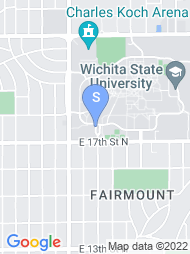 Wichita State University map