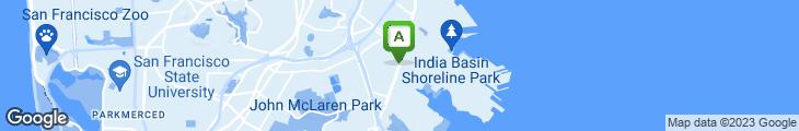 Map of The Jewel Restaurant