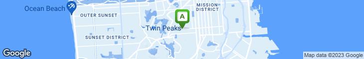 Map of Kookez Cafe