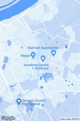 Map of Owensboro