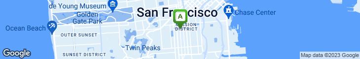 Map of Luna Park