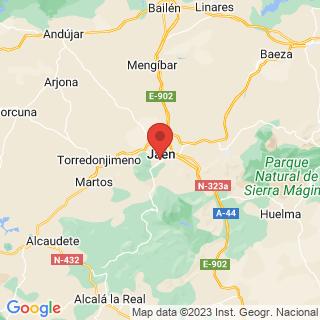 Map - Large hunting estate near Jaen, Jaen