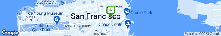 Map of SoMa Inn Cafe