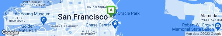 Map of Amici's East Coast Pizzeria