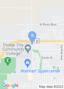 Dodge City Community College map