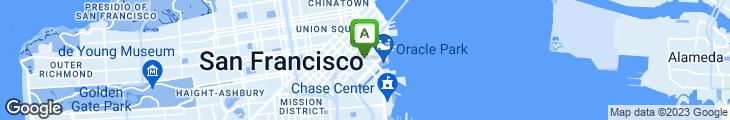 Map of Bacar Restaurant