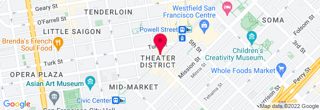 Map for The Warfield