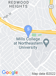 Mills College map
