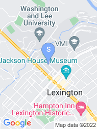 Washington and Lee University map