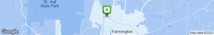 Map of Hibachi Buffet & Sushi