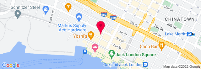 Map for Jack London Square