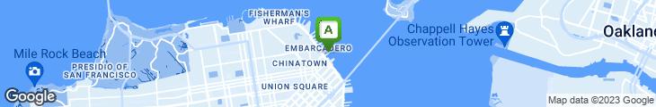 Map of Franciscan Restaurant