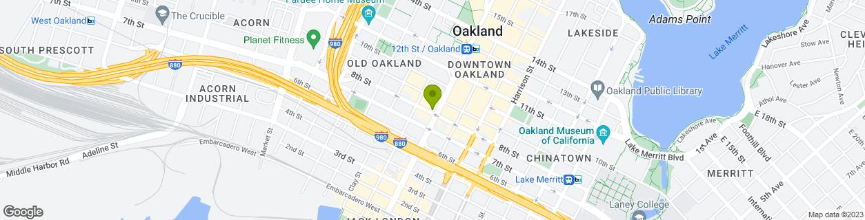 Broadway & 8th Street - Oaklan