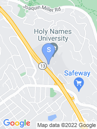 Holy Names University map