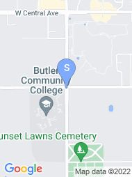 Butler Community College map