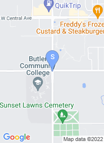 Butler CC map