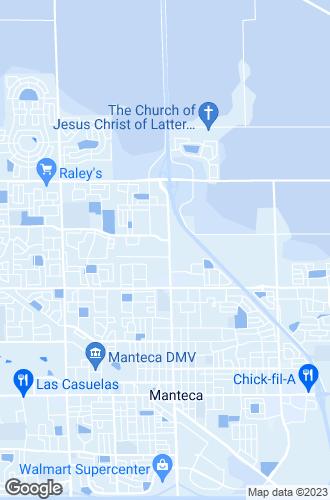 Map of Manteca