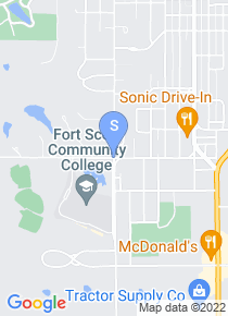 Fort Scott Community College map